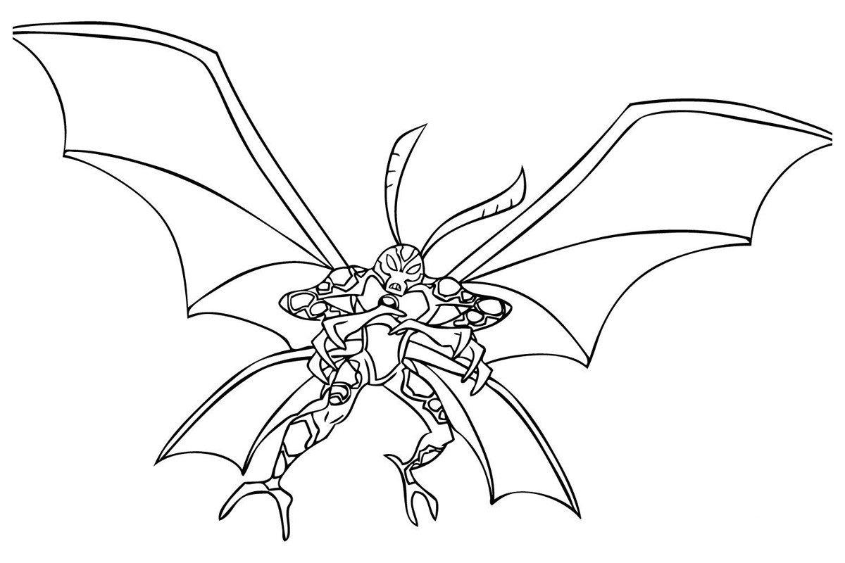 Картинка для раскраски «Крылатый (Big Chill)»