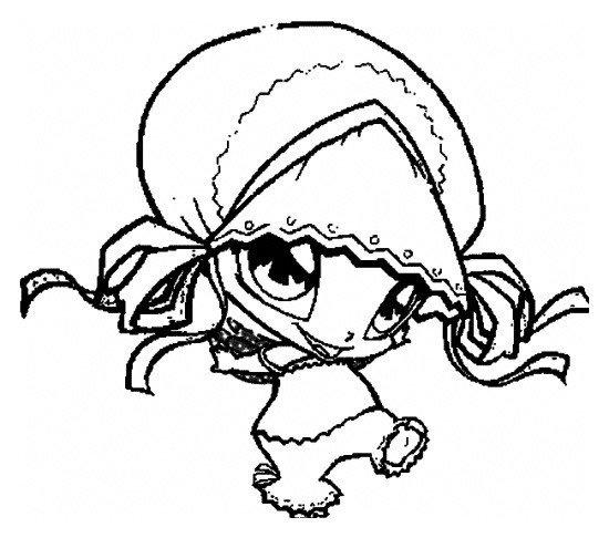 Пикси Пифф - Картинка для раскрашивания красками-гуашью