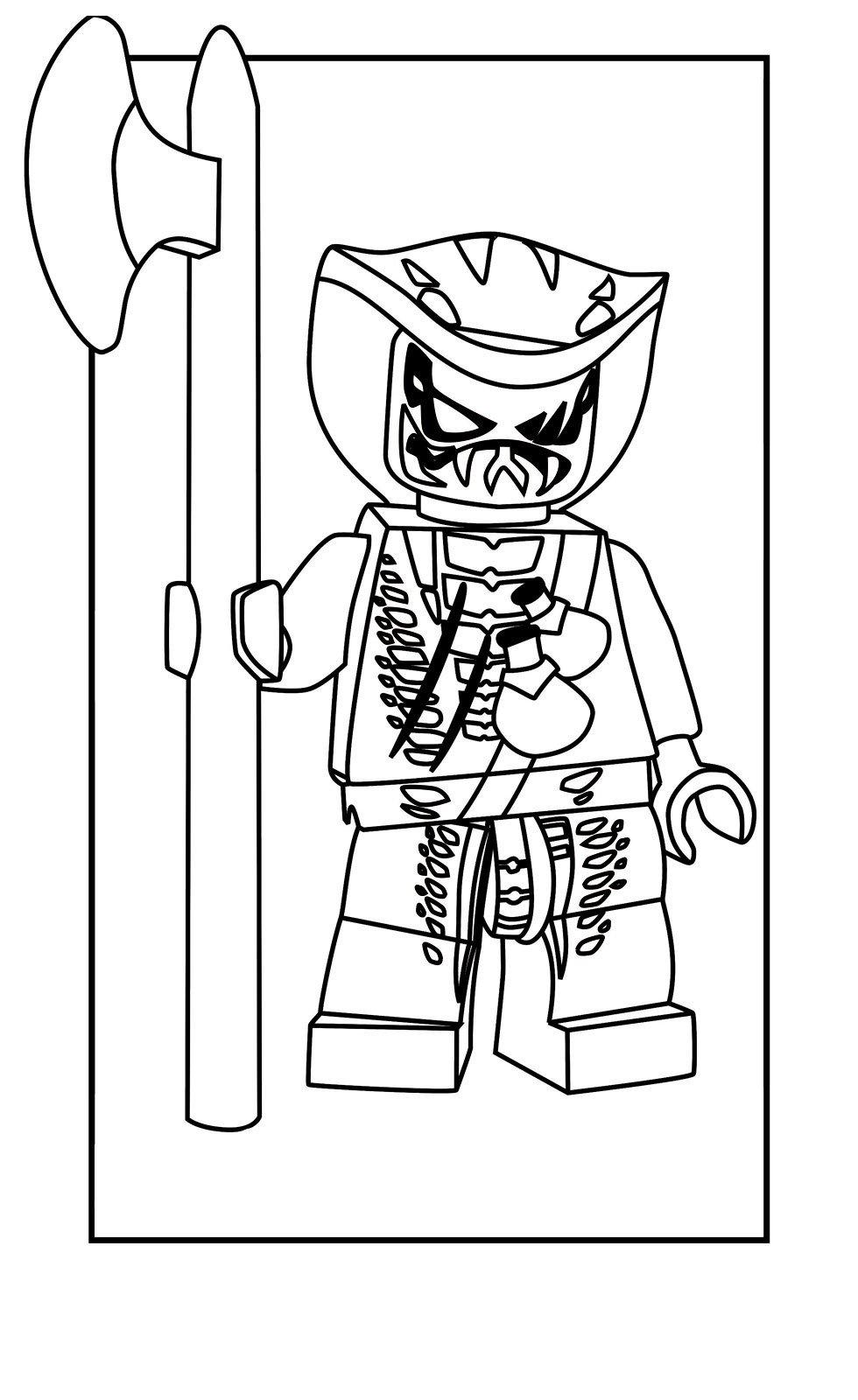 Воин Лаша - Картинка для раскрашивания красками-гуашью