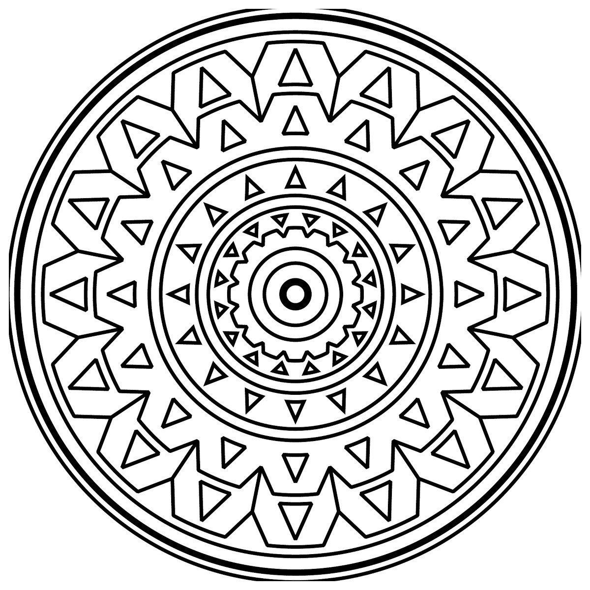Картинка для раскраски «Зендала Механизмы»