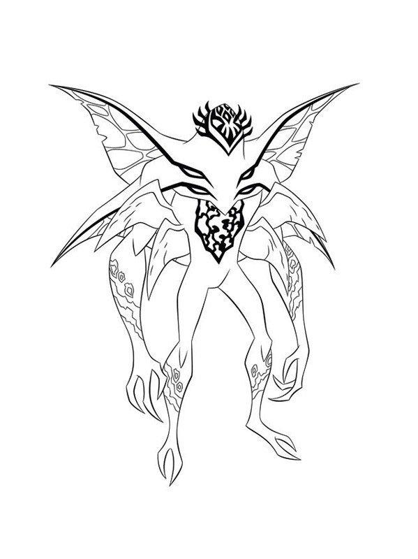 Жук Stinkfly - Картинка для раскрашивания красками-гуашью